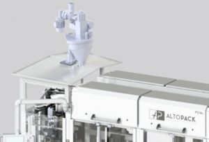 Cous cous packaging machine